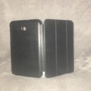 Black Samsung case.